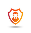 security agency icon shield protection symbol