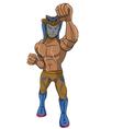 wrestler Cobra vector image vector image