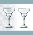 3d margarita cocktail glass for drinks