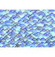 abstract ocean wave watercolor background vector image vector image