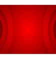 Abstract red wavy corporate background vector image vector image