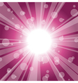 Abstract star burst vector image