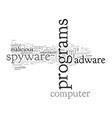 anti spyware adware vector image vector image