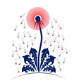 dandelion people vector image