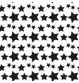 geometric seamless pattern monochrome randomly vector image vector image