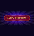 happy birthday card concept vector image vector image