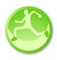 icon sport vector image