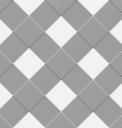 Monochrome background of diagonal pattern vector image