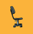 office chair furniture for work vector image