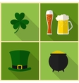 Saint Patricks Day Modern flat design vector image