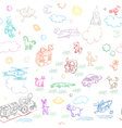 Toy doodles pattern