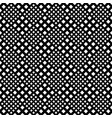 abstract monochrome geometrical seamless square vector image vector image