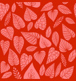 bright coral pattern vector image vector image