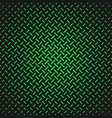 green simple halftone line pattern background vector image vector image