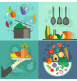 Healthy Food Banners vector image