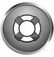 icon tires sea boat vector image vector image