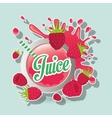 Juice icon design vector image vector image