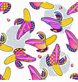 summer party poster pattern seamless geometric vector image vector image