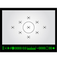 viewfinder vector image