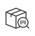 barcode identification line icon 48x48 perfect vector image