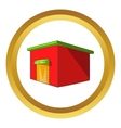 Beer warehouse icon vector image