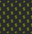 dollar pattern vector image vector image