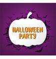 Happy Halloween Calligraphy vector image vector image