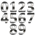 iron digit vector image
