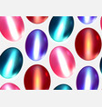 seamless texture with multicolored gems vector image vector image