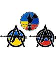 war in ukraine vector image