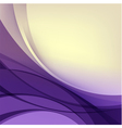 Abstract purple yellow background vector image