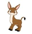Cartoon Donkey vector image