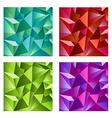 Background design in four colors vector image vector image