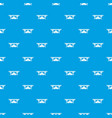 concrete bridge pattern seamless blue vector image vector image