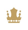 crown king logo vector image
