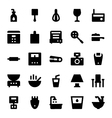 Home Appliances Icons 8 vector image vector image