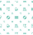 ring icons pattern seamless white background vector image vector image