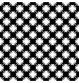 seamless pattern black white texture vector image vector image