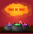 abstract celebrating halloween poster vector image vector image