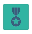 Army award icon from Award Buttons OverColor Set vector image