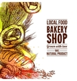 Bakery Hand Drawn vector image