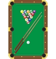 billiard vector image vector image