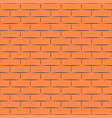 ceramic orange brick tile wall eps vector image vector image