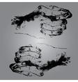 hands eps10 vector image