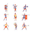 roman army ancient rome war battle legion vector image
