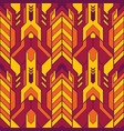 abstract geometric color seamless pattern vector image vector image