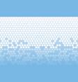 background hexagon element future geometric vector image