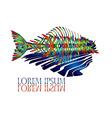 Fish Logo2 vector image vector image