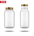 Glass Jars for canning and preserving vector image vector image