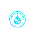 humidity water level control icon vector image vector image